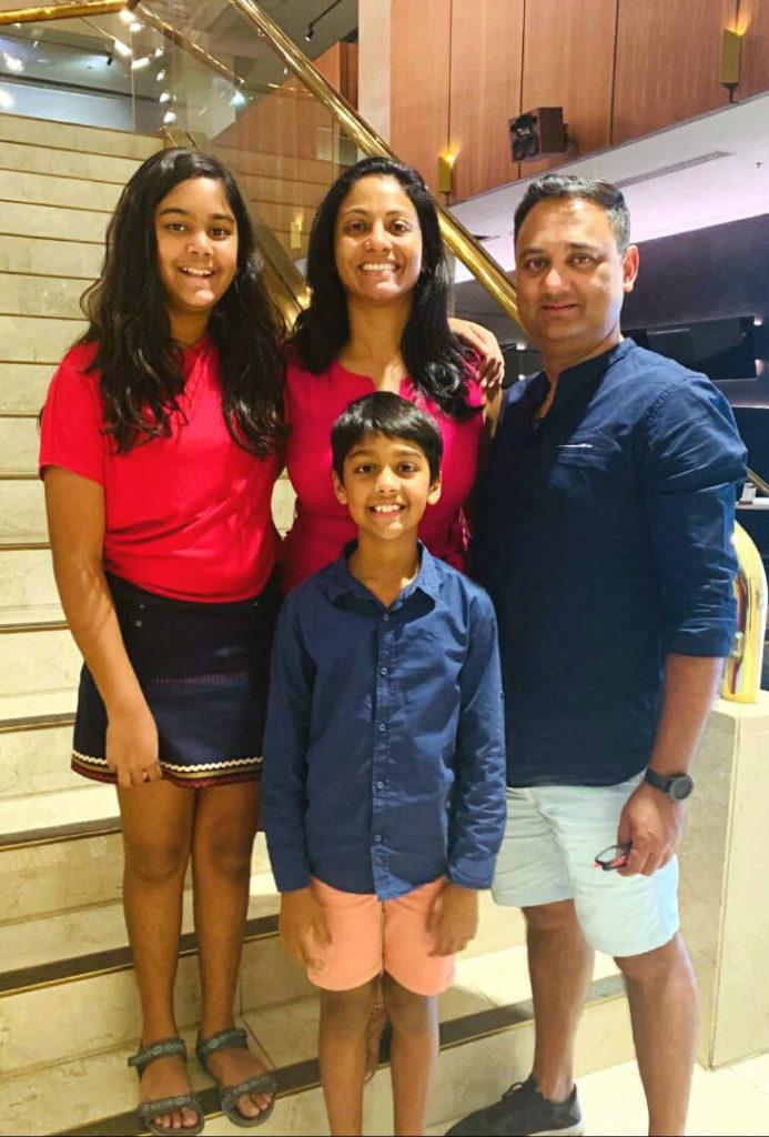 Sanjukta And Family 2