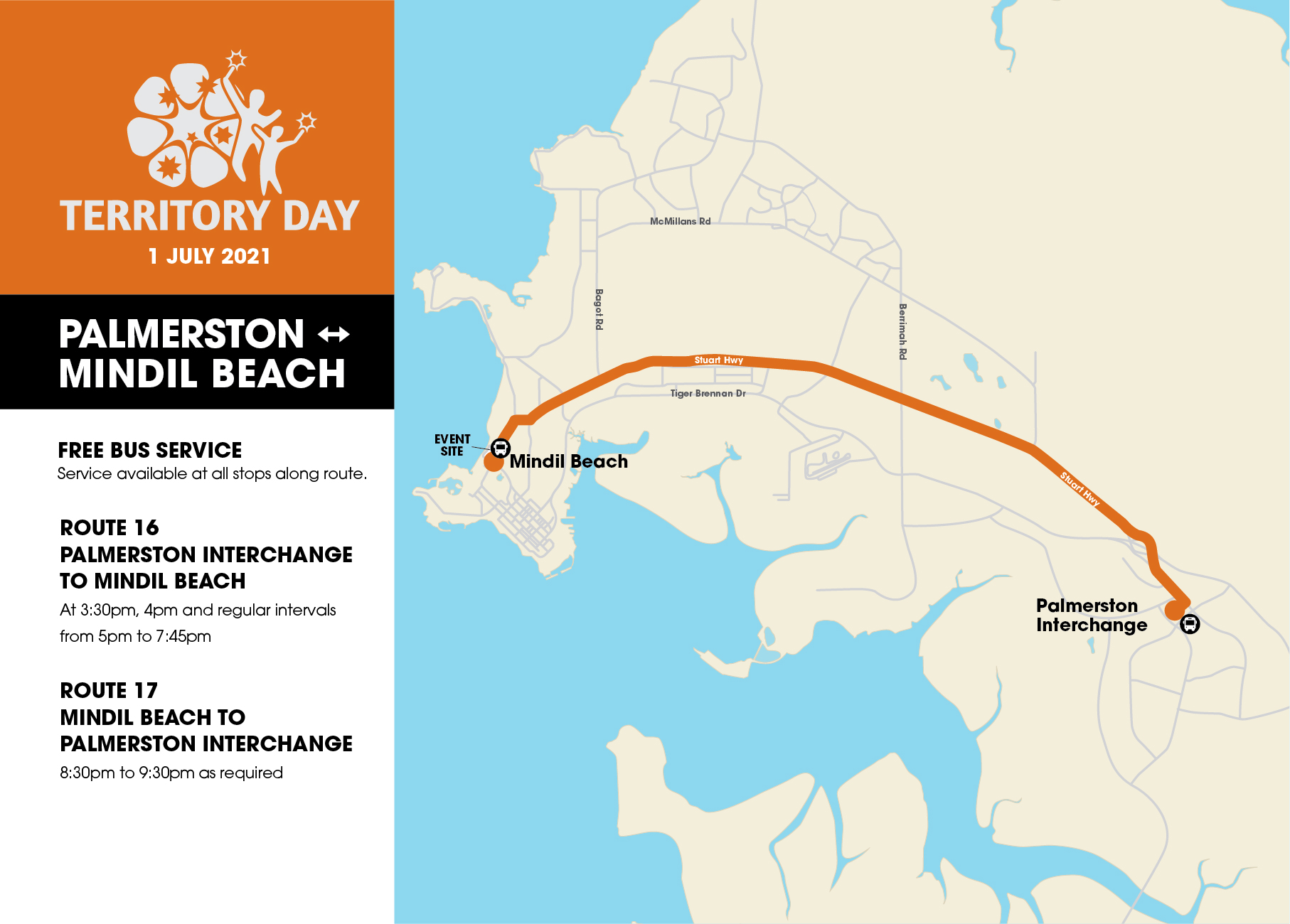 Territory Day Bus Routes Maps 03