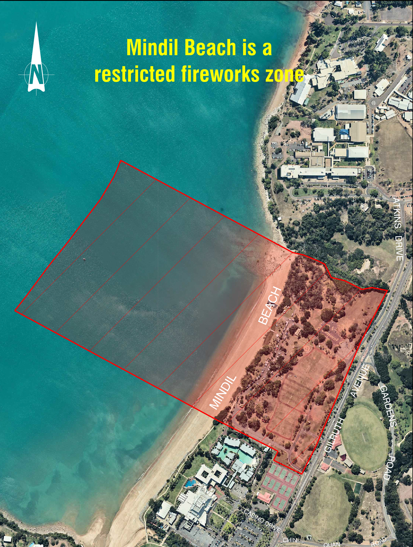 Mindil Beach Restricted Zone